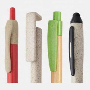 bolígrafos y agendas